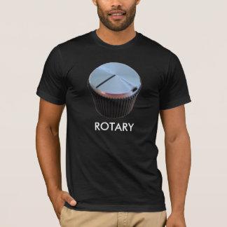 回転式DJのワイシャツ Tシャツ