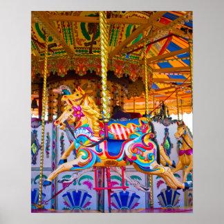 回転木馬の乗車ポスター ポスター