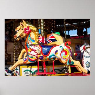回転木馬の乗車 ポスター