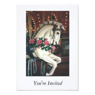 回転木馬の招待状 カード