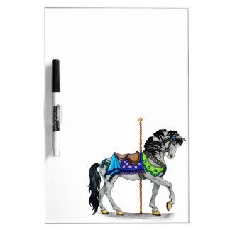 回転木馬の馬 ホワイトボード