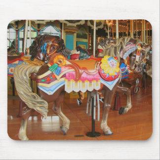 回転木馬の馬 マウスパッド