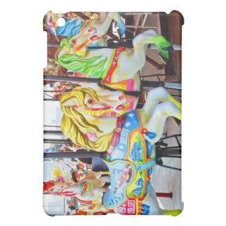 回転木馬-コニーアイランド、NYCのipadの場合 iPad Mini カバー