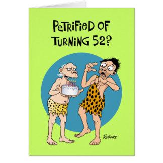 回転52誕生日 カード