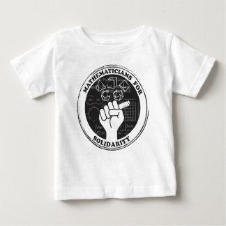 団結のTシャツ-ベビーのための数学者 ベビーTシャツ