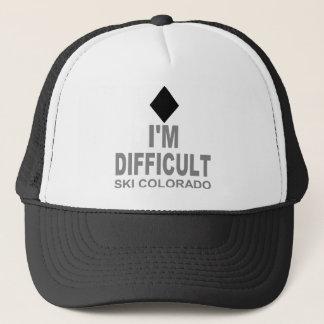 困難なスキーコロラド州 キャップ