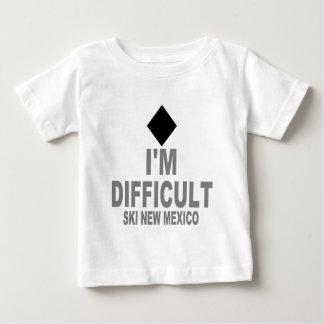 困難なスキーニューメキシコ ベビーTシャツ