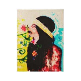 """囲んで下さい芸術、家の装飾ポスター、19""""をx 14.5 """" ウッドポスター"""