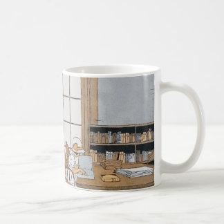 図書館で読むこと コーヒーマグカップ