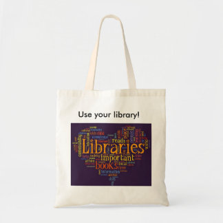 図書館のトートバック トートバッグ