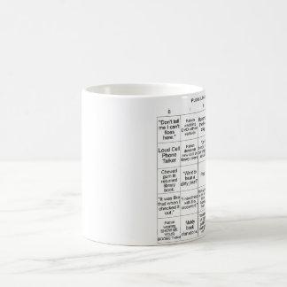 図書館のビンゴ-マグ コーヒーマグカップ