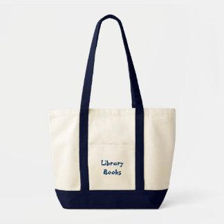 図書館のブックバッグ トートバッグ