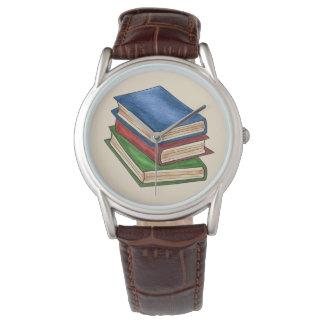 図書館の本は先生の司書のギフトの腕時計を予約します 腕時計