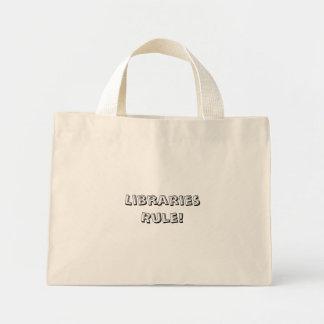 図書館規則! Totebag ミニトートバッグ