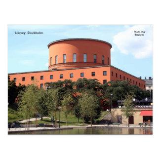 図書館、ストックホルムの写真のOla B… ポストカード