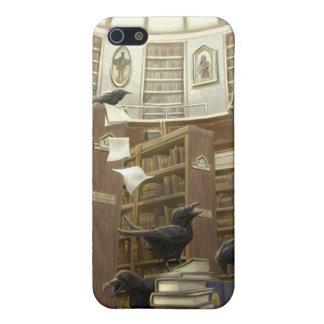 図書館- Iphoneの場合のワタリガラス iPhone 5 Cover
