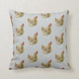 図解入りの、写真付きのでパターン(の模様が)あるな鶏の投球のクッション クッション