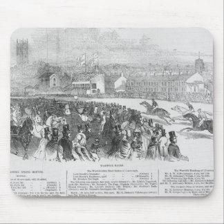 「図解入りの、写真付きのなロンドンからのWarwickの競争、 マウスパッド