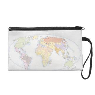 図解入りの、写真付きのな世界地図3 リストレット