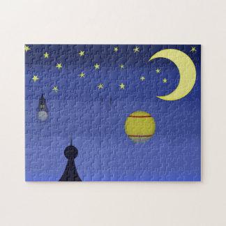 図解入りの、写真付きのな夜空のパズル ジグソーパズル