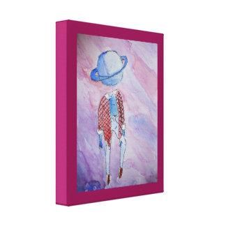 図解入りの、写真付きのな惑星ネプチューン部屋の装飾 キャンバスプリント