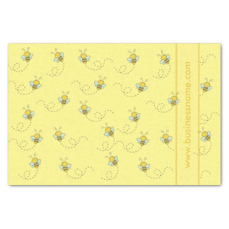 図解入りの、写真付きのな蜂蜜の蜂 薄葉紙