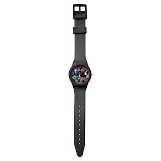 図解入りの、写真付きのな都市落書きのスタイル 腕時計