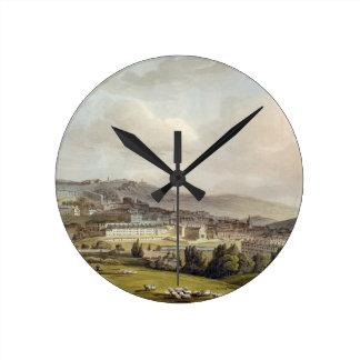 「図解入りの、写真付きのなBathからのBathの一般的な見解、 ラウンド壁時計
