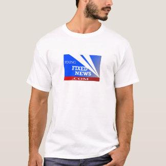 固定固定ニュースのティー Tシャツ