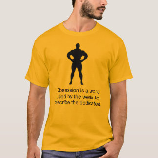 固定観念は弱いのによって使用される単語…です Tシャツ