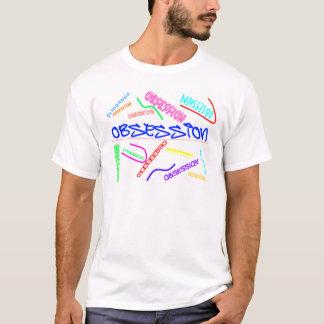 固定観念ライン Tシャツ