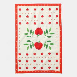 国のりんごの台所タオル キッチンタオル