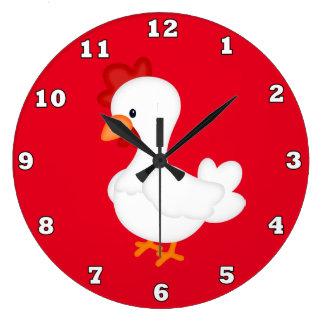 国のオンドリの台所柱時計 ラージ壁時計