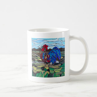 国のオンドリ コーヒーマグカップ
