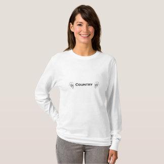 国のオンドリ Tシャツ