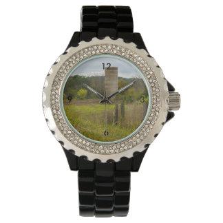 国のサイロ 腕時計