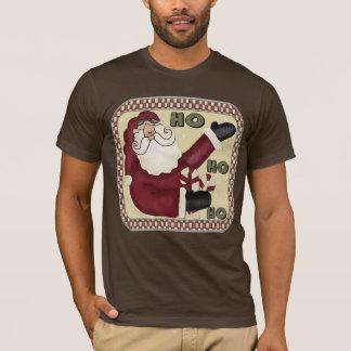 国のサンタのTシャツ Tシャツ