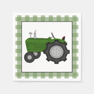 国のトラクターのパーティの紙ナプキン スタンダードカクテルナプキン