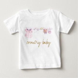 国のベビー ベビーTシャツ