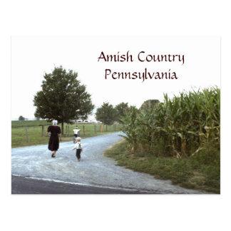 国のペンシルバニアアマン派のPA ポストカード