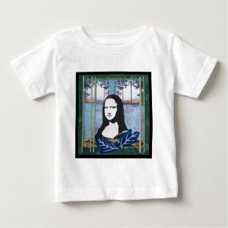 国のモナ・リザ ベビーTシャツ