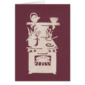 国の台所 グリーティングカード