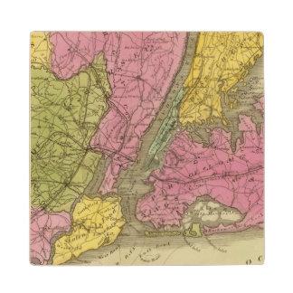 国の地図 ウッドコースター