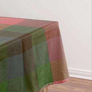 国の夏の格子縞のテーブルクロス テーブルクロス