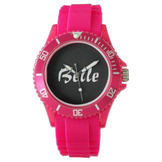 国の女の子のピンクの南美女の腕時計 ウオッチ