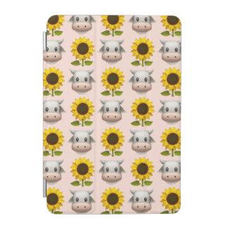 国の女の子のEmojiのiPadの小型頭が切れるなカバー iPad Miniカバー