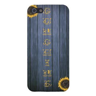 国の日光のIphoneの素朴な場合 iPhone SE/5/5sケース