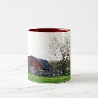 国の納屋のマグ ツートーンマグカップ