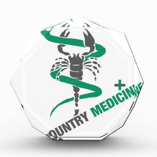 国の薬-ヘビ/蠍 表彰盾