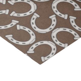 国の西部の馬の靴パターンティッシュペーパー 薄葉紙